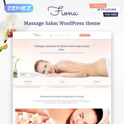 Massage Salon Responsive WordPress模板