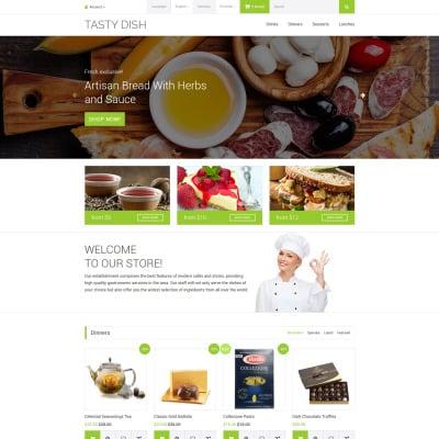Cafe Responsive OpenCart šablona