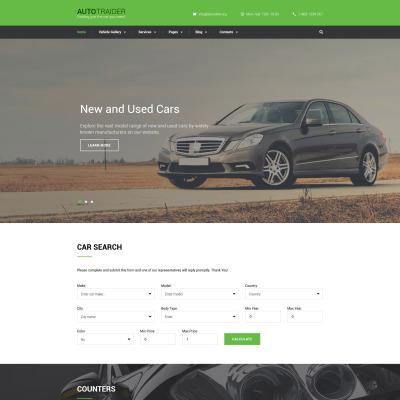 Car Dealer Responsive Šablona Webových Stránek