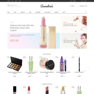 Cosmetics Store Responsive OpenCart šablona