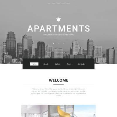 Real Estate Moto CMS HTML Template