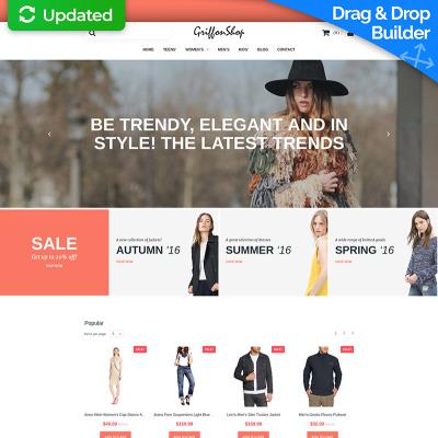 Fashion Store Responsive MotoCMS Ecommerce Template