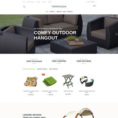 Furniture Responsive VirtueMart模板