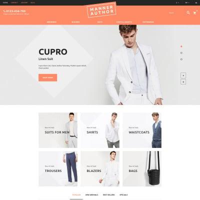 Flexível tema PrestaShop  №60019 para Sites de Loja de Moda
