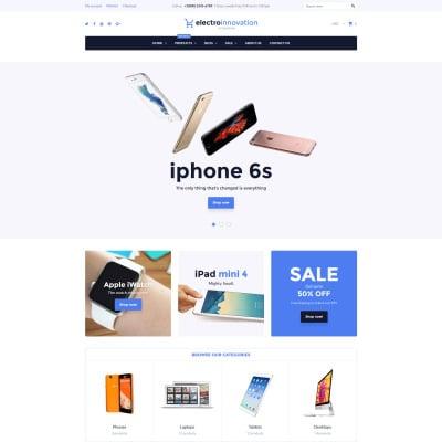 Electronics Store Responsive Shopify Motiv