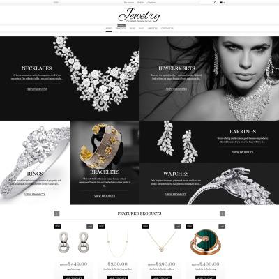 Flexível temas Shopify  №60058 para Sites de Joias