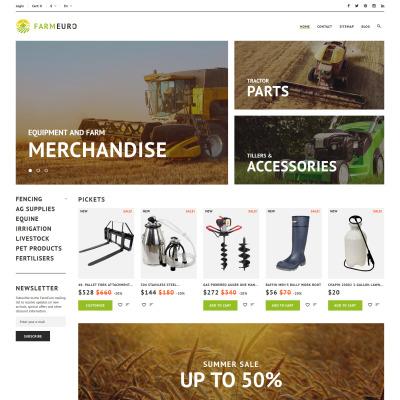 Farm Responsive PrestaShop шаблон