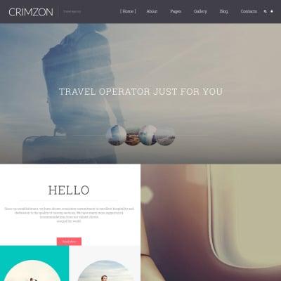 Travel Agency Responsive Joomla šablona