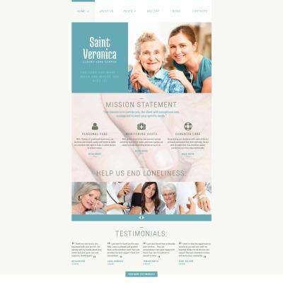 Elderly Care Responsive Joomla šablona