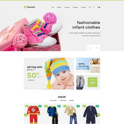 Responsives PrestaShop Theme für Babyshop