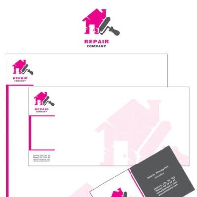 Home Repairs Corporate Identity Template