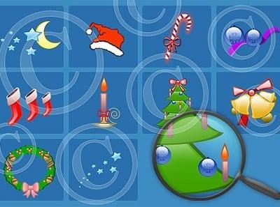 Logosammlung Vorlage für Weihnachts