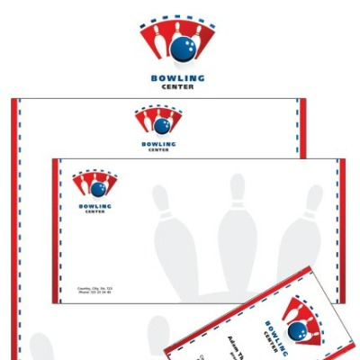 Bowling Corporate Identity Template