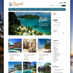 VirtueMart Vorlage für Reisebüro
