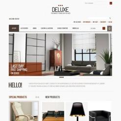 Magento тема №40573 на тему  дизайна интерьеров
