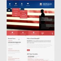 Political Party Joomla Template