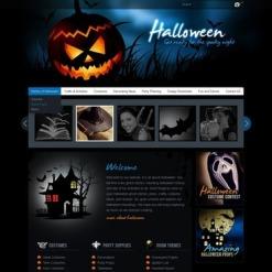 Flash CMS Vorlage für Halloween