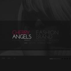 Fashion Facebook Flash CMS шаблон