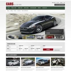 Facebook Flash CMS Template für Autohaus