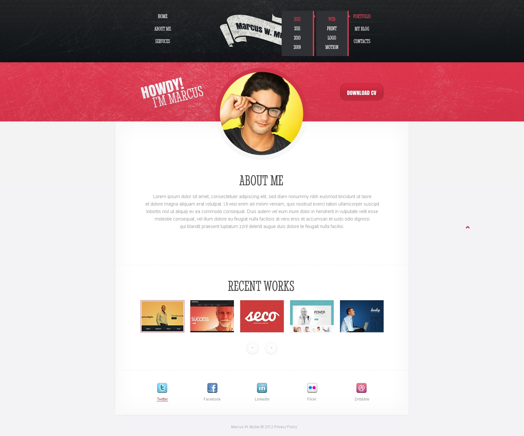 Adult free layout site web