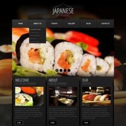 WordPress Theme für Fischrestaurant