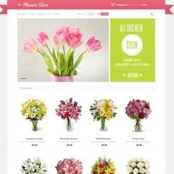 VirtueMart Vorlage für Blumengeschäft
