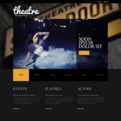 Facebook HTML CMS Vorlage für Theater