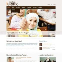 Religious School Facebook HTML CMS Template