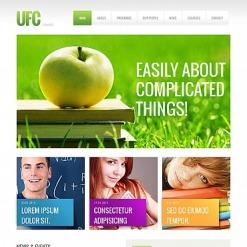 Moto CMS HTML Vorlage für Universität