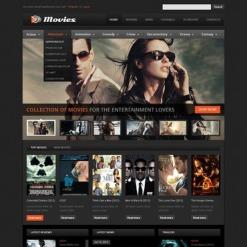 Facebook HTML CMS Vorlage für Film