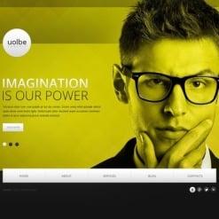 Website Vorlage für Marketing-Agentur