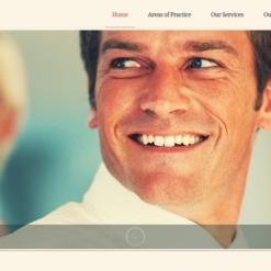 Website Vorlage für Anwaltskanzlei