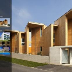 Website Vorlage für Architektur