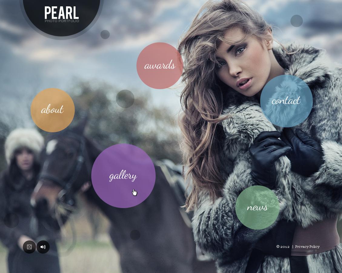 Design tutorials, vector packs, and photography ideas Flash photography portfolio template