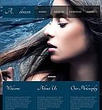 Facebook HTML CMS Vorlage für Fotografen Portfolio