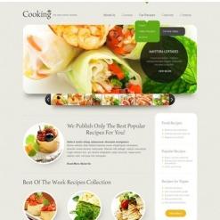 Flash CMS Vorlage für Kochen