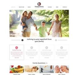 Flash CMS Vorlage für Familie