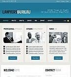 Facebook HTML CMS Vorlage für Rechtsanwalt