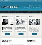 Szablon Facebook HTML CMS #44881 na temat: prawnik