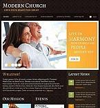 Szablon Facebook HTML CMS #44882 na temat: religia