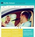 Traffic School Facebook HTML CMS Template