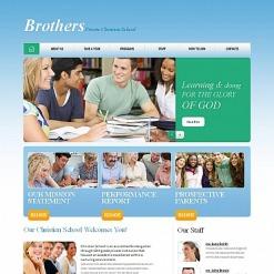 Moto CMS HTML Vorlage für Religionsschule