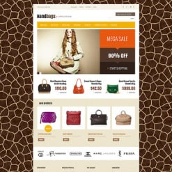 Handbag Magento Theme