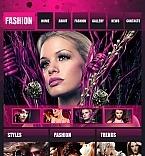 Facebook HTML CMS Vorlage für Mode-Blog