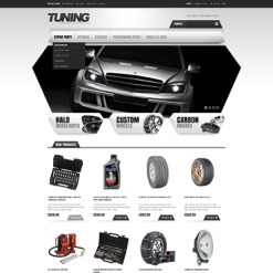 Car Tuning Responsive Magento Theme