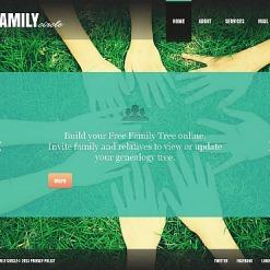 Moto CMS HTML Vorlage für Familienzentrum