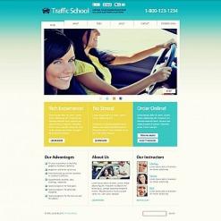 Flash CMS Vorlage für Fahrschule