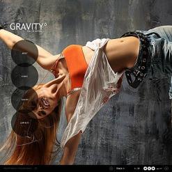 Flash CMS Vorlage für Tanzstudio