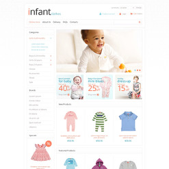 VirtueMart Vorlage für Neugeborenes
