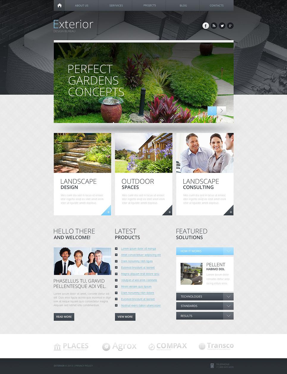Шаблоны сайтов с адаптивным дизайном